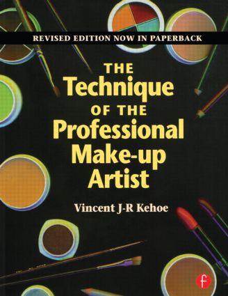 The Technique of the Professional Make-Up Artist (Paperback) book cover