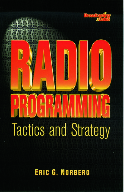 Radio Programming: Tactics and Strategy: 1st Edition (Paperback) book cover