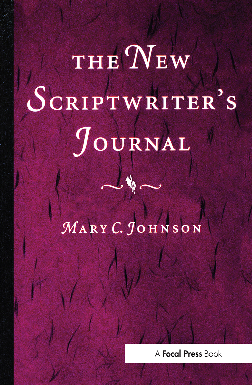 The New Scriptwriter's Journal: 1st Edition (Paperback) book cover