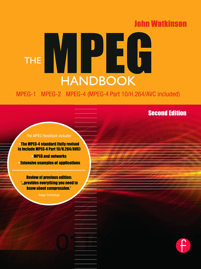 The MPEG Handbook: 2nd Edition (Hardback) book cover