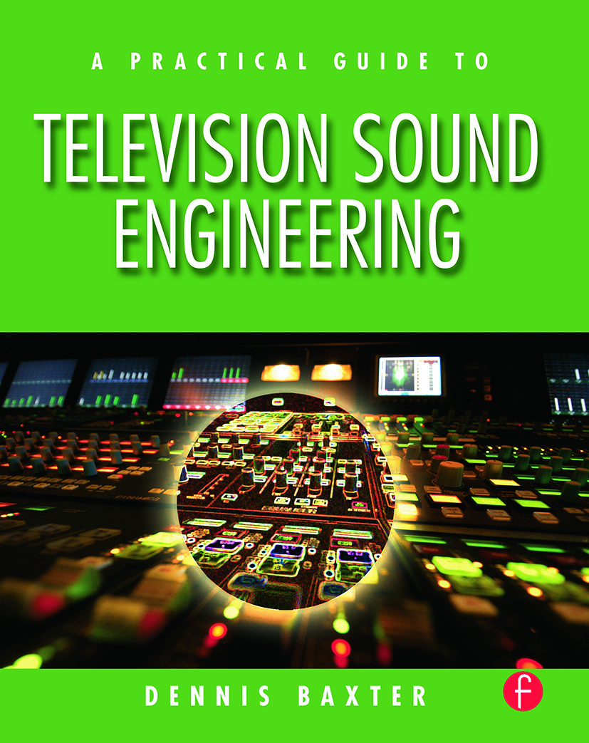 A Practical Guide to Television Sound Engineering: 1st Edition (Paperback) book cover