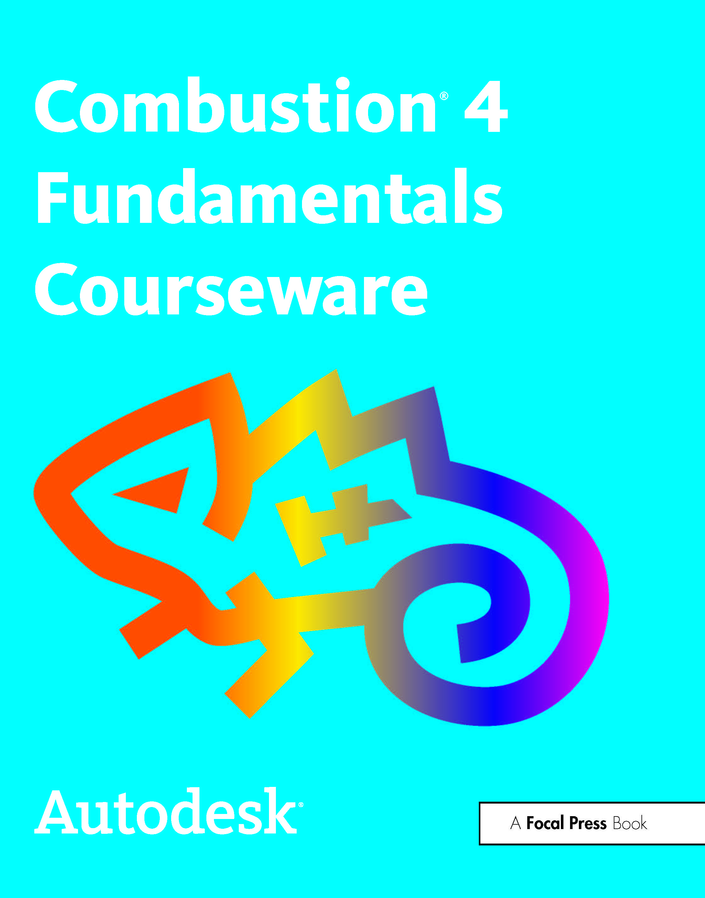 Autodesk Combustion 4 Fundamentals Courseware book cover
