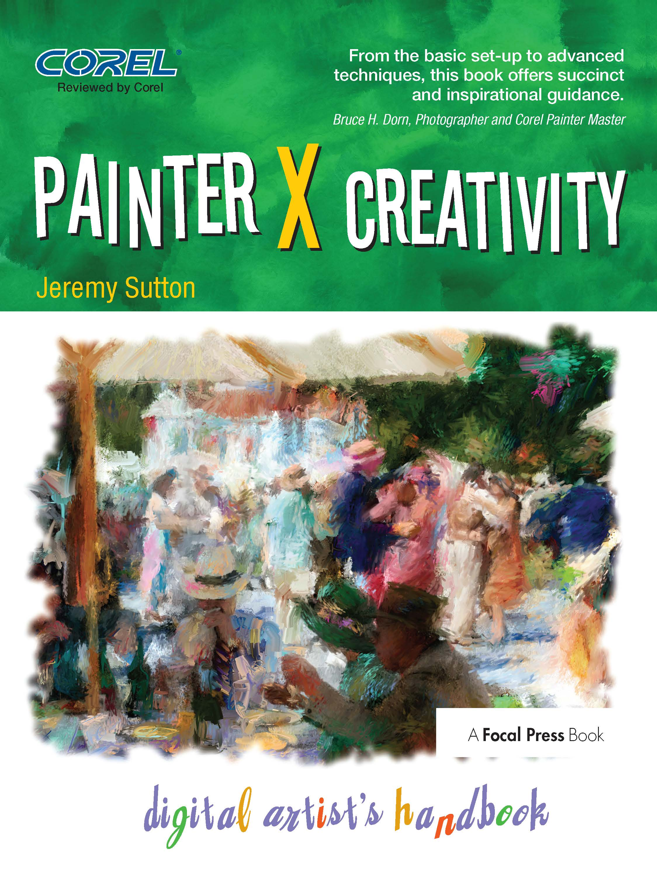 Painter X Creativity: Digital Artist's handbook book cover