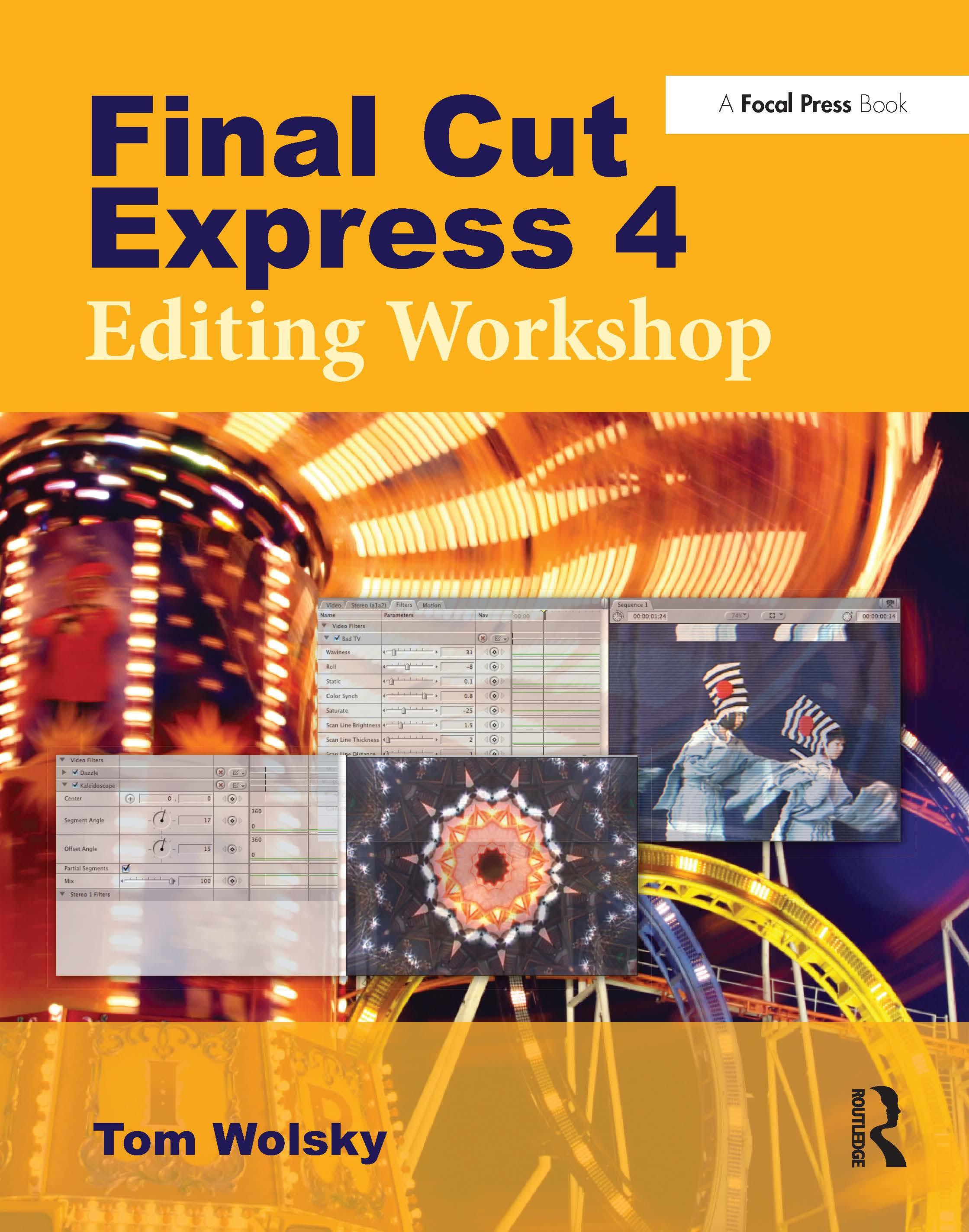 Final Cut Express 4 Editing Workshop book cover