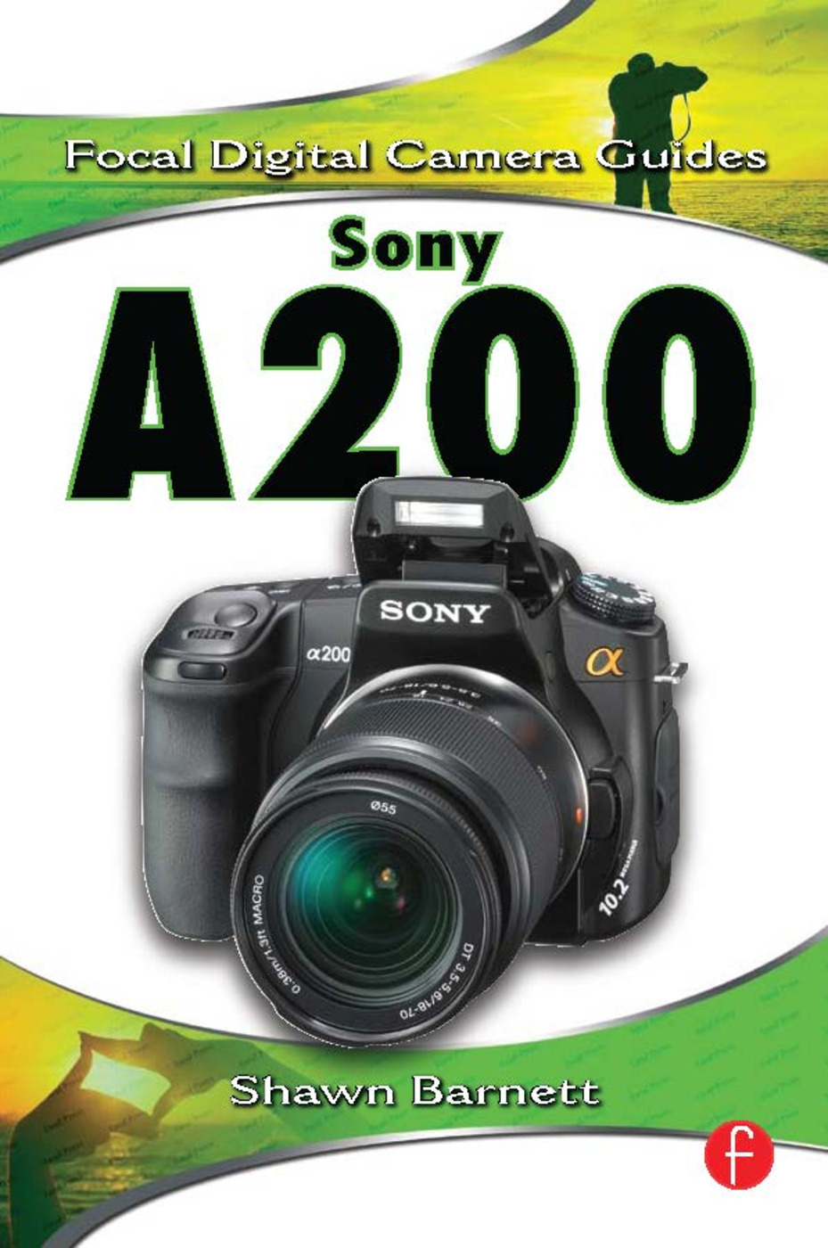 Sony A200 book cover