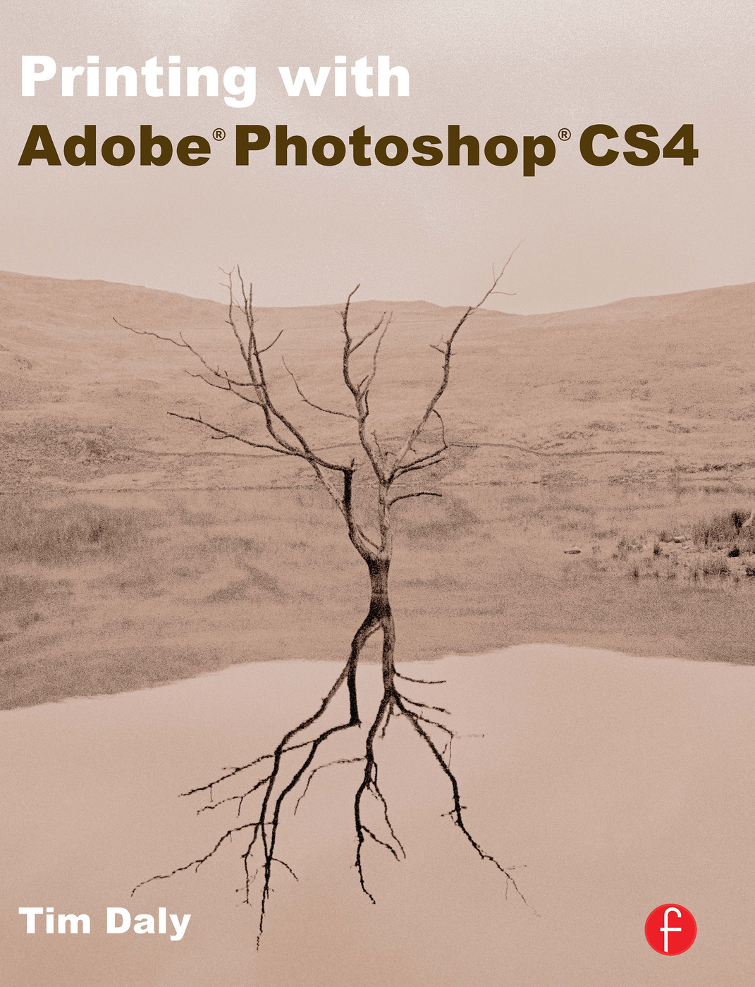 Printing with Adobe Photoshop CS4 book cover