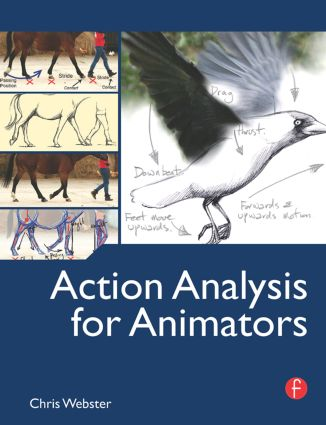 Action Analysis for Animators (Paperback) book cover