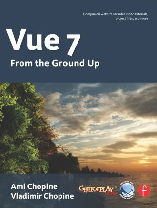 Vue 7: From the Ground Up: The Official Guide book cover