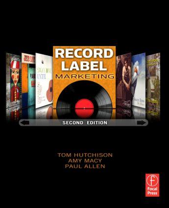 Record Label Marketing book cover