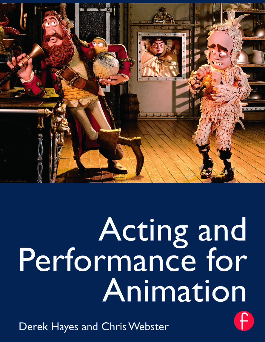 Acting and Performance for Animation (Paperback) book cover