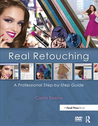 Real Retouching: A Professional Step-by-Step Guide book cover