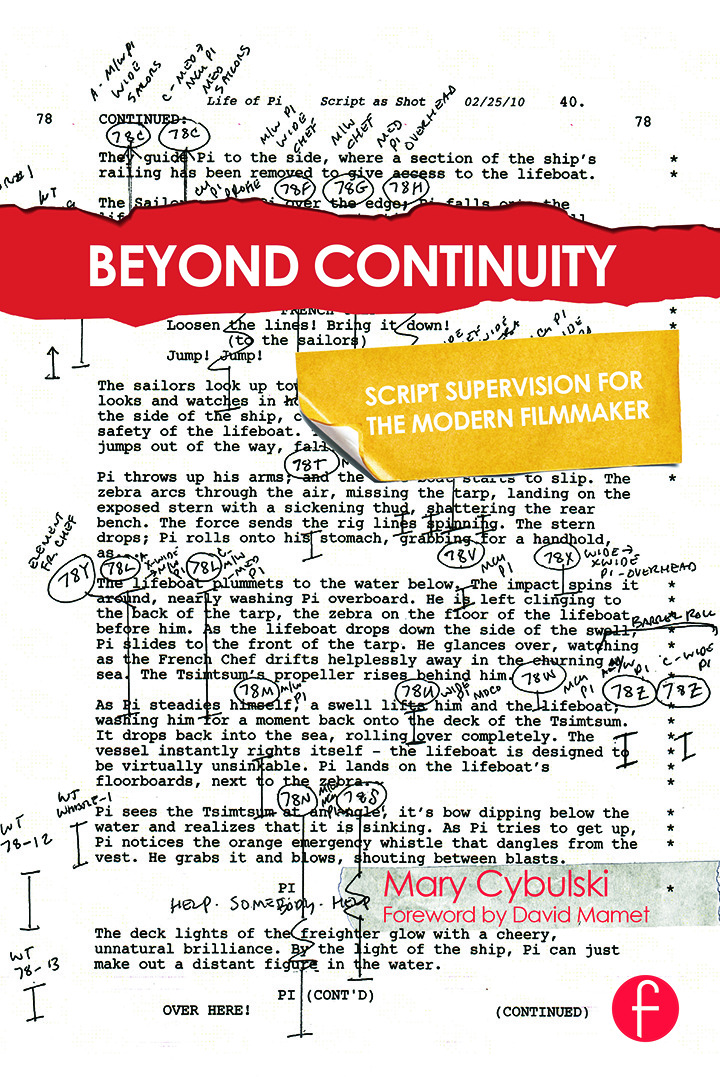 Beyond Continuity: Script Supervision for the Modern Filmmaker book cover