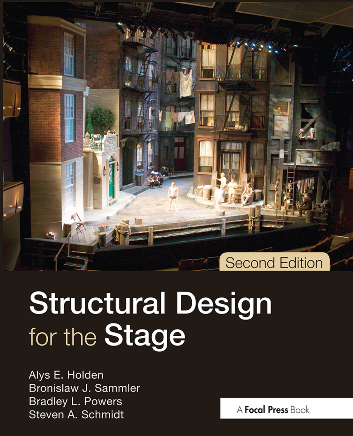 Structural Design for the Stage: 2nd Edition (Hardback) book cover
