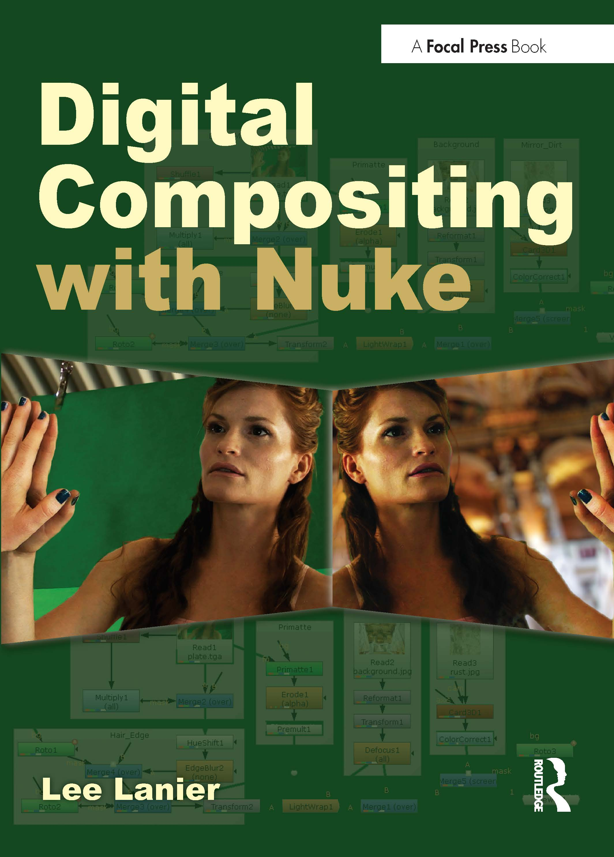Digital Compositing with Nuke book cover