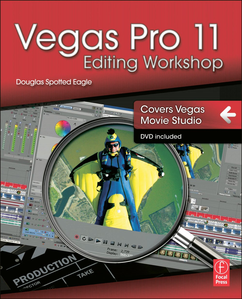 Vegas Pro 11 Editing Workshop book cover