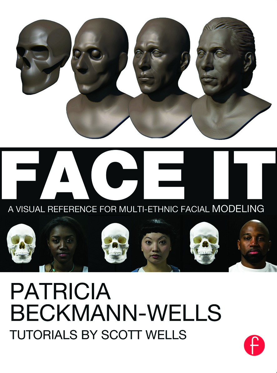 Face It: A Visual Reference for Multi-ethnic Facial Modeling (Paperback) book cover