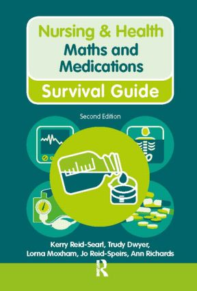 Maths and Medications: 2nd Edition (Hardback) book cover