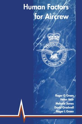 Human Factors for Aircrew (RAF Edition): 2nd Edition (Paperback) book cover