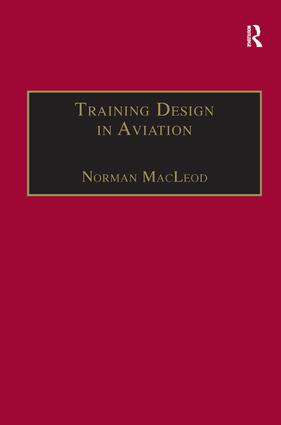 Training Design in Aviation: 1st Edition (Paperback) book cover