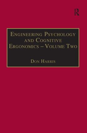 Engineering Psychology and Cognitive Ergonomics: Volume 2: Job Design and Product Design, 1st Edition (Paperback) book cover