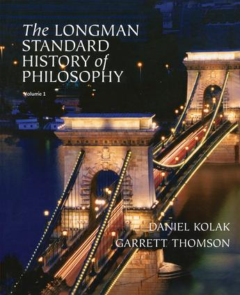 The Longman Standard History of Philosophy, VOL 1 & 2: 1st Edition (Paperback) book cover