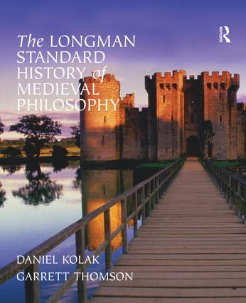 The Longman Standard History of Medieval Philosophy book cover