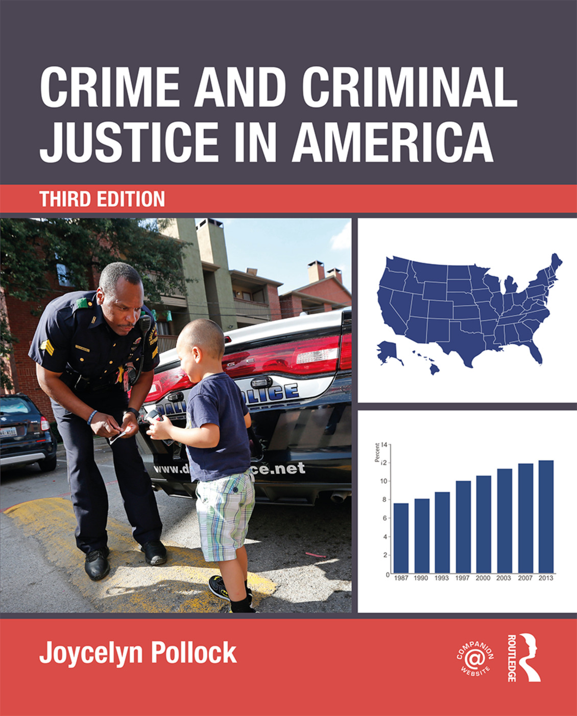 Crime and Criminal Justice in America book cover