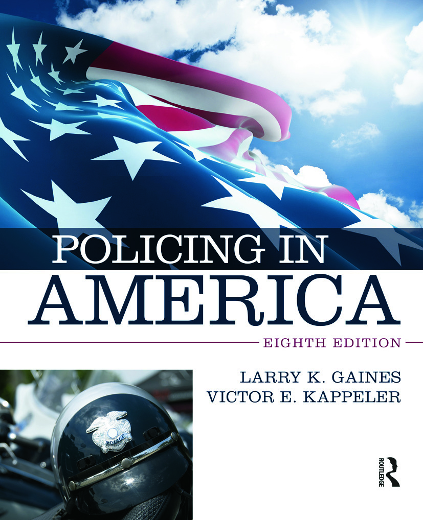 Policing in America: 8th Edition (Paperback) book cover