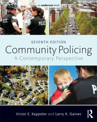 Community Policing: A Contemporary Perspective, 7th Edition (Paperback) book cover