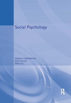 Social Psychology: 1st Edition (Paperback) book cover