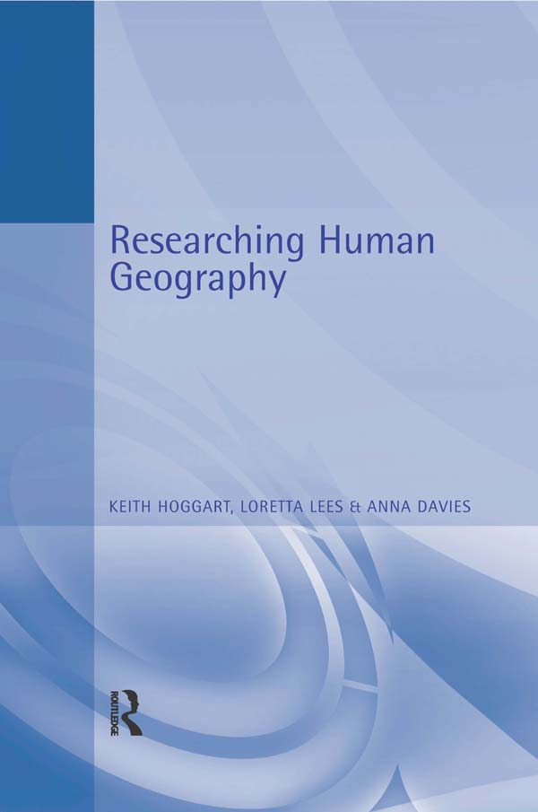 Researching Human Geography: 1st Edition (e-Book) book cover