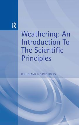 Weathering: An Introduction to the Scientific Principles, 1st Edition (Paperback) book cover