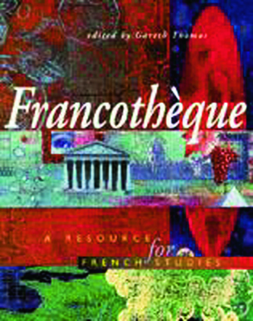 Francotheque: A resource for French studies: 1st Edition (Paperback) book cover