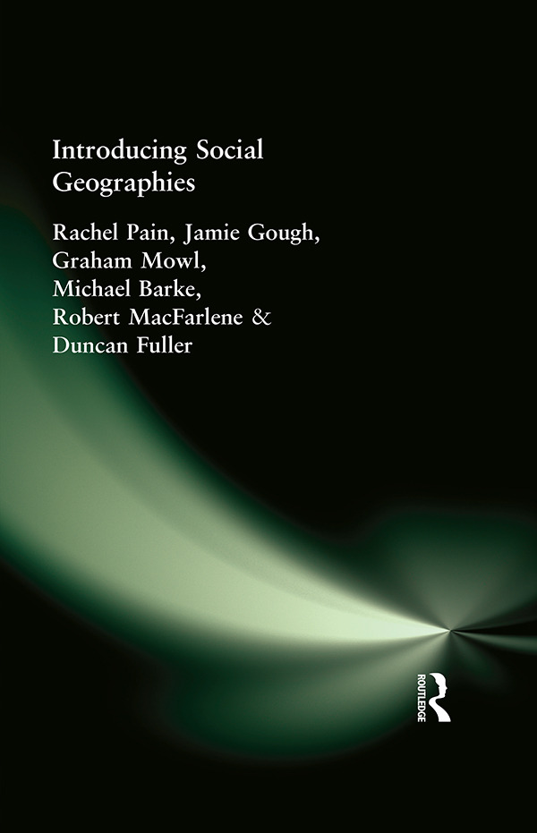 Introducing Social Geographies (Paperback) book cover