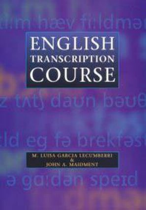English Transcription Course: 1st Edition (Paperback) book cover