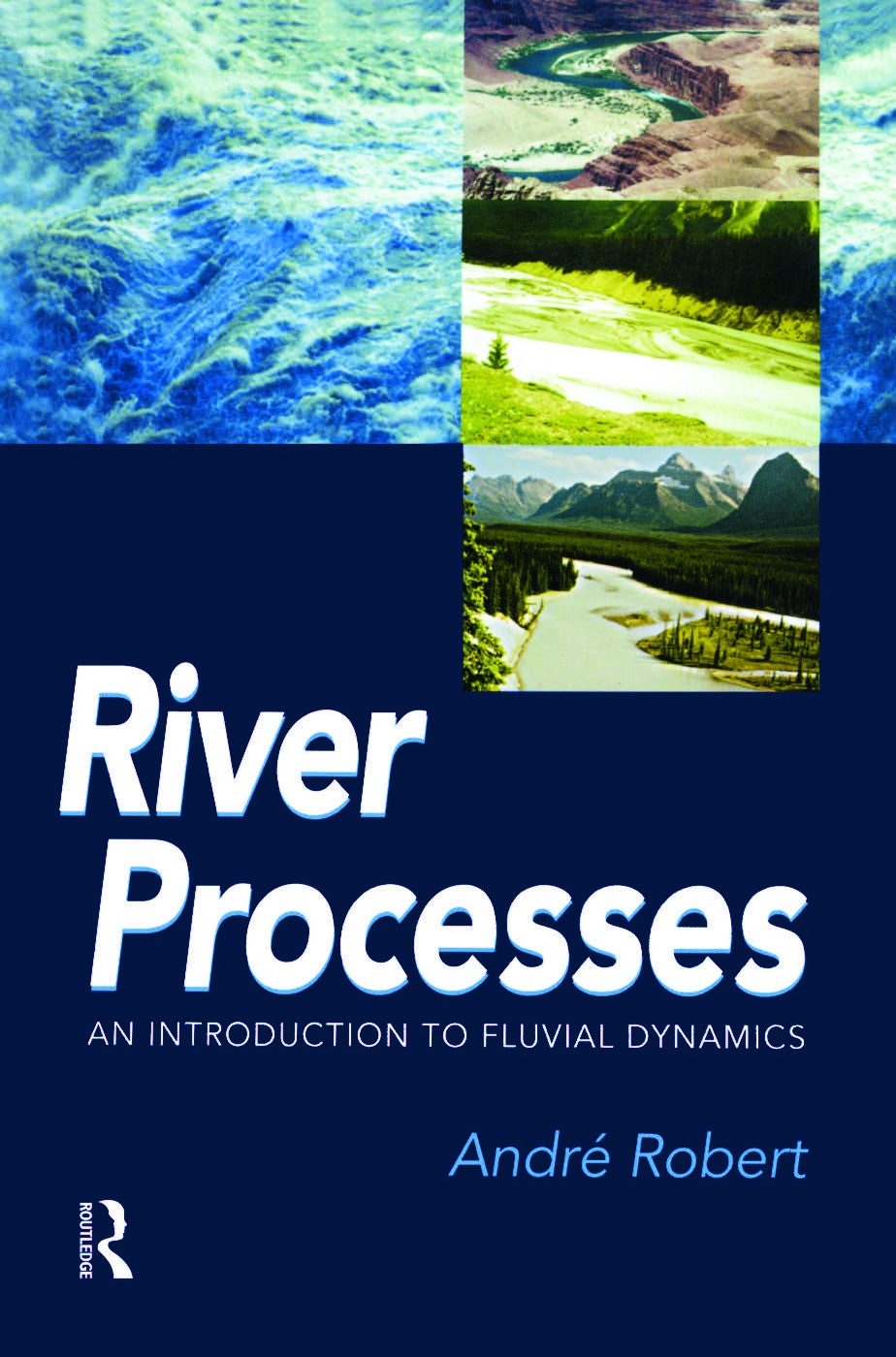 RIVER PROCESSES: An introduction to fluvial dynamics, 1st Edition (Paperback) book cover