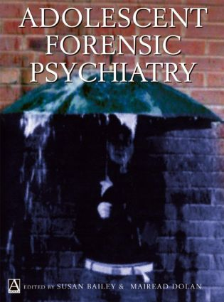 Adolescent Forensic Psychiatry (Hardback) book cover