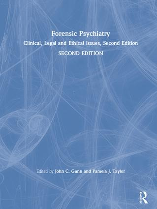 Forensic Psychiatry: Clinical, Legal and Ethical Issues, Second Edition, 2nd Edition (Pack - Book and Ebook) book cover