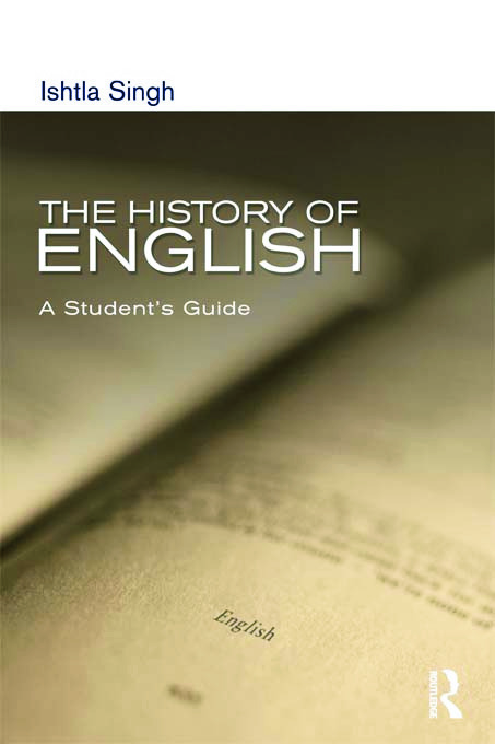 The History of English: A Student's Guide (Paperback) book cover
