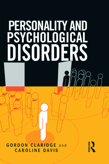 Personality and Psychological Disorders (Paperback) book cover