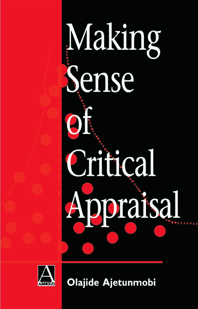 Making Sense of Critical Appraisal book cover