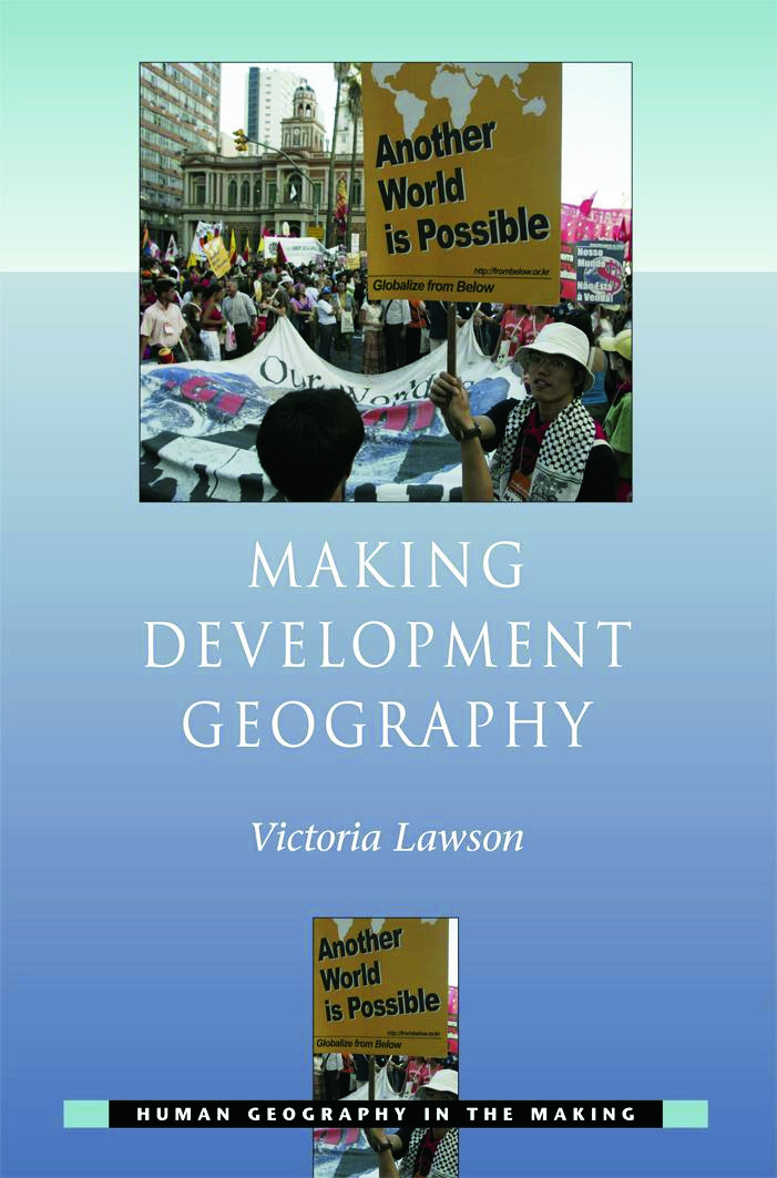Making Development Geography: 1st Edition (Paperback) book cover