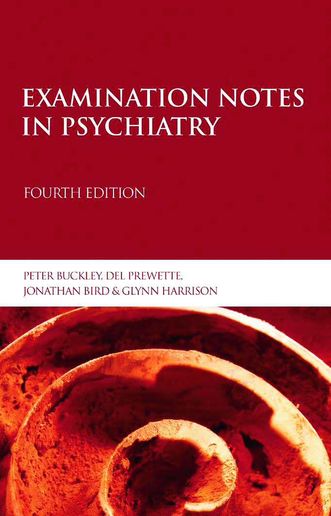 Examination Notes in Psychiatry: 4th Edition (Paperback) book cover