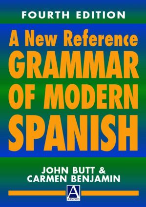 A New Reference Grammar of Modern Spanish, 4th edition: 4th Edition (e-Book) book cover