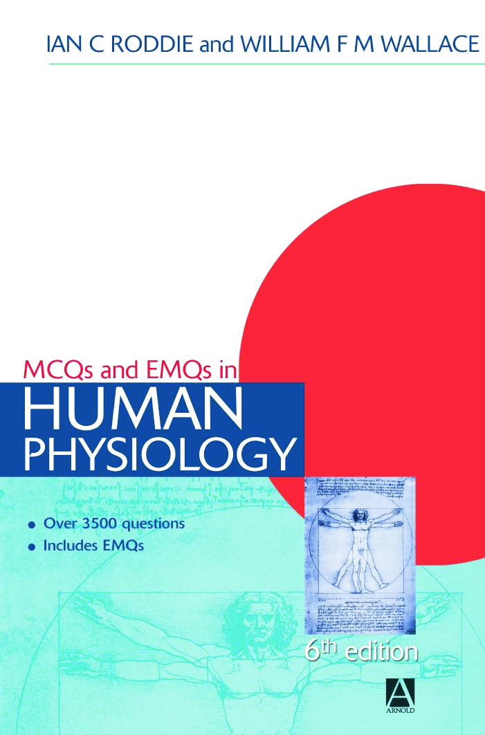 MCQs & EMQs in Human Physiology, 6th edition: 6th Edition (Paperback) book cover