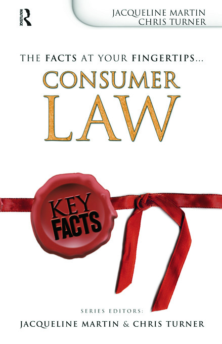 Key Facts: Consumer Law book cover