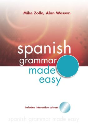 Spanish Grammar Made Easy (Paperback) book cover