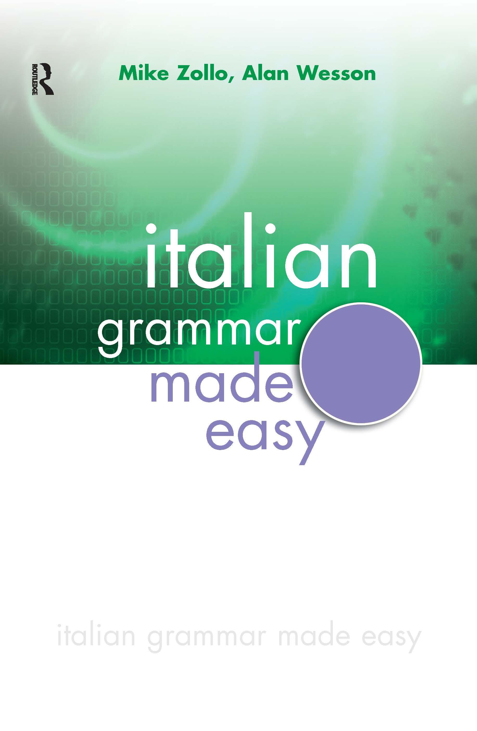 Italian Grammar Made Easy (Paperback) book cover