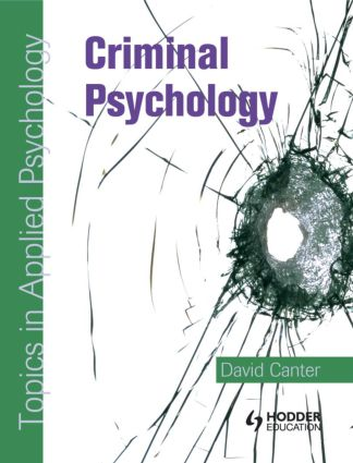 Criminal Psychology: Topics in Applied Psychology (Paperback) book cover