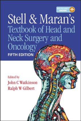 Stell & Maran's Textbook of Head and Neck Surgery and Oncology book cover